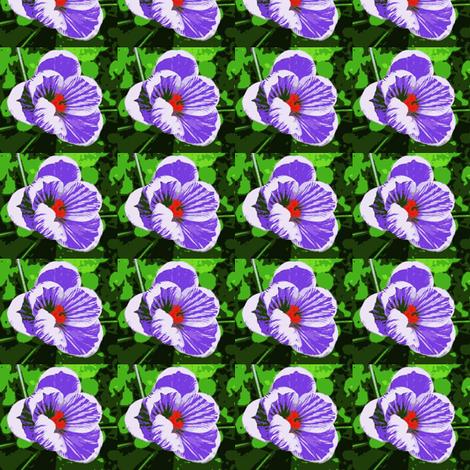 crocus-poster fabric by cathymcg on Spoonflower - custom fabric
