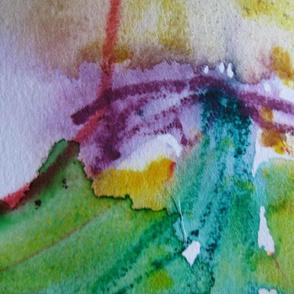 Watercolor sweep