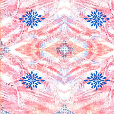 Flourish Pastepaper fabric by cathymcg on Spoonflower - custom fabric