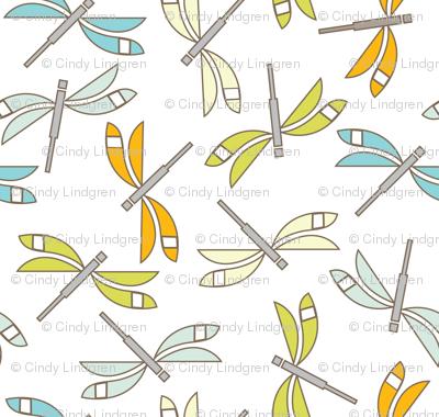 Dragonfly Swarm