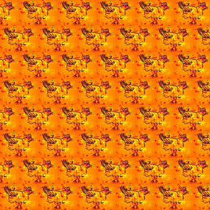 chicken splotch orange
