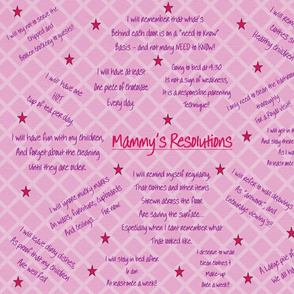 Mammy's Resolutions a