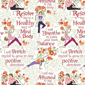 Resolutions for Health wth Yoga_Pink