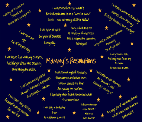Mammy's Resolutions c fabric by sewpersonal_designs on Spoonflower - custom fabric