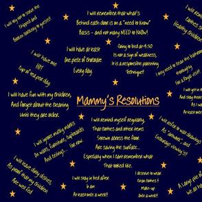 Mammy's Resolutions c