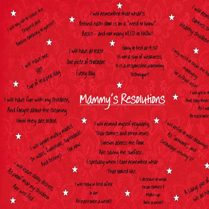 Mammy's Resolutions d