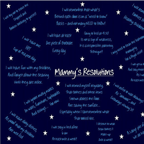 Mammy's Resolutions e