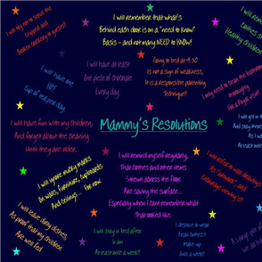 Mammy's Resolutions g