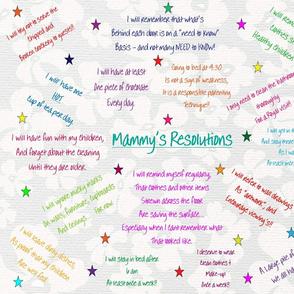 Mammy's Resolutions h