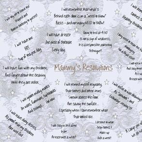 Mammy's Resolutions I