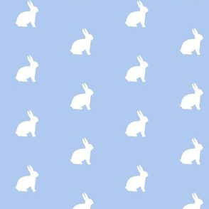 White Bunny Bluebell