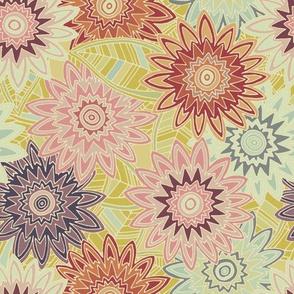 springtime flowers vintage