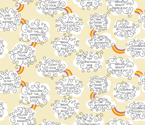 Resolutions fabric by jtterwelp on Spoonflower - custom fabric