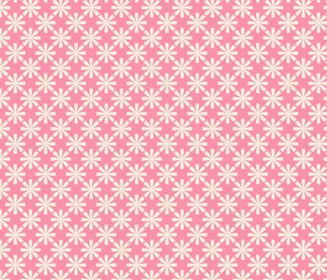 fleur_rose_M fabric by nadja_petremand on Spoonflower - custom fabric