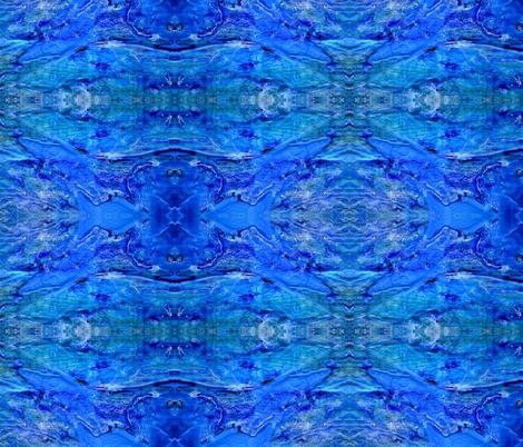 rhapsody sea 4 fabric by nerdlypainter on Spoonflower - custom fabric