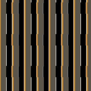 Medium Orange City Stripe Pattern