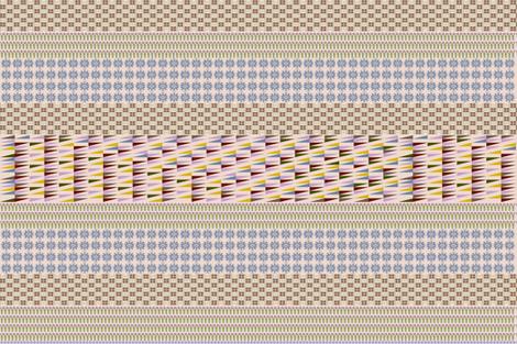 Trendy House fabric by crisjof on Spoonflower - custom fabric