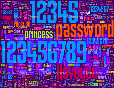 bad passwords - large