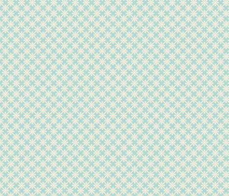 fleur_aqua_S fabric by nadja_petremand on Spoonflower - custom fabric