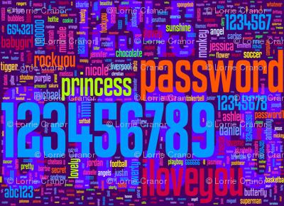 bad passwords - small