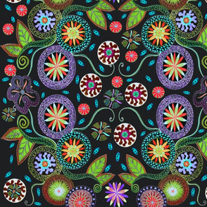 Flaura Garden by Rick Cheadle Designs