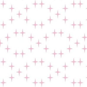 Cross in pale pink