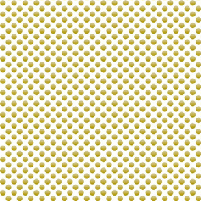 metallic polka dot gold