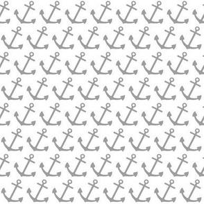 HMS Fryboat anchor (grey)