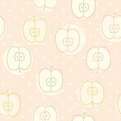 Pink sweet apple pattern