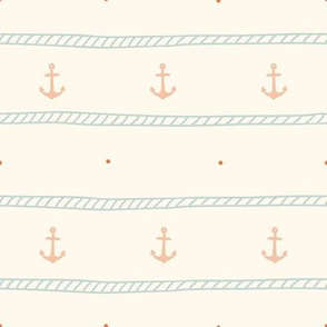 Rope and anchor pattern