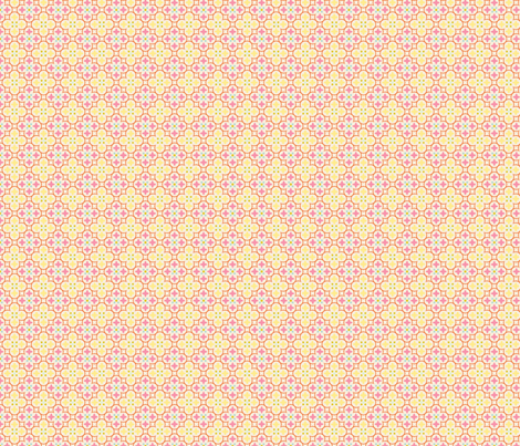 mosaique_fond_beige_S fabric by nadja_petremand on Spoonflower - custom fabric