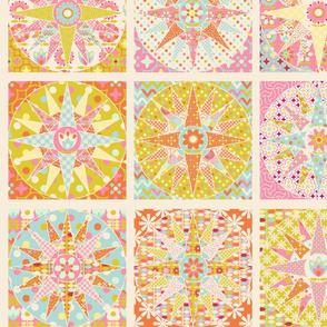 spring_sunshine_cheater_quilt_beige_L