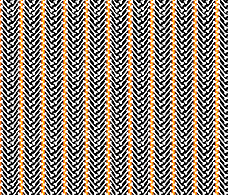 herringbone fabric by skellychic on Spoonflower - custom fabric