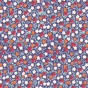 Floral Blobs Quilt