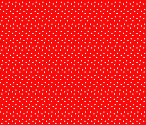 dotted_swiss-red fabric by mammajamma on Spoonflower - custom fabric
