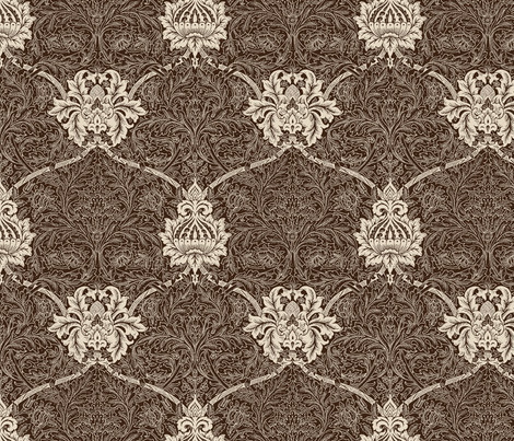 St James Palace Redux 1c fabric by muhlenkott on Spoonflower - custom fabric