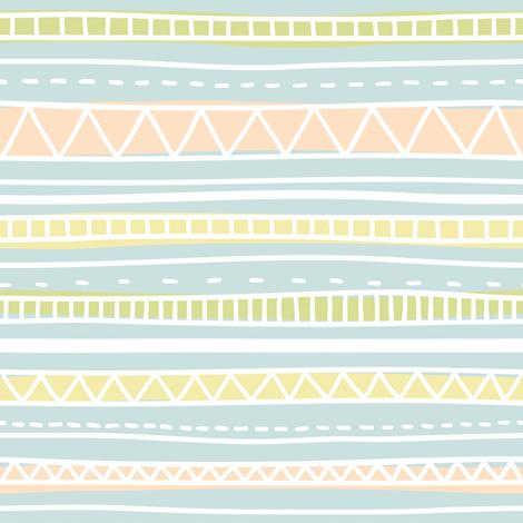 Color native ornaments fabric by kondratya on Spoonflower - custom fabric