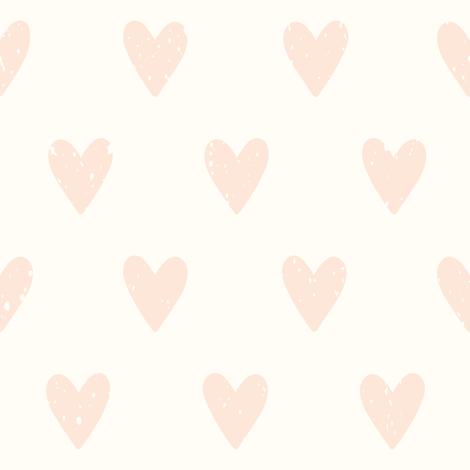 Vintage heart pattern fabric by kondratya on Spoonflower - custom fabric