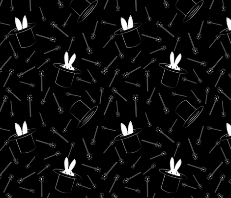 Abracadabra! fabric by hmooreart on Spoonflower - custom fabric