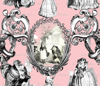 Those Animals Think They're People Toile ~ Dauphine