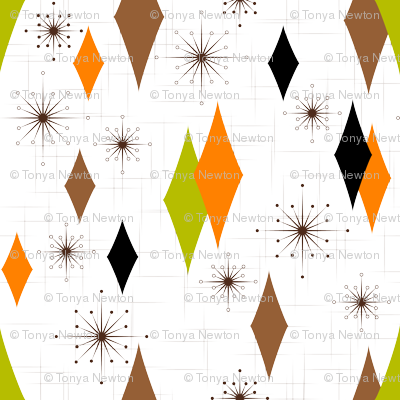 Burmond #B1 (Orange/Olive/Brown)