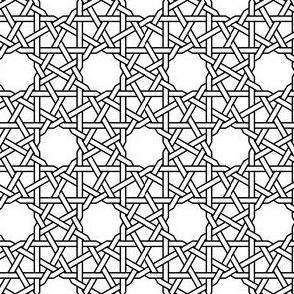 dodec-tri star weave plus