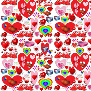 Valentine Heart Collage