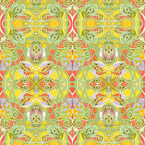 Dripping With Paisley fabric by edsel2084 on Spoonflower - custom fabric