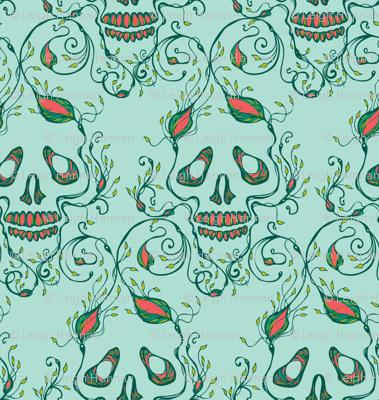 riley skull aqua