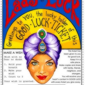 Lady Luck's Good Luck Ticket
