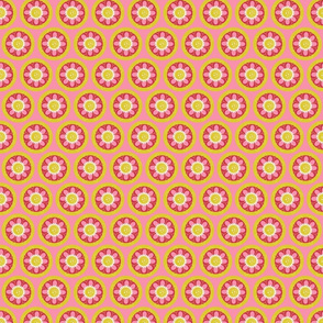 """Spring Blooms CircleMG Pink 2"""""""