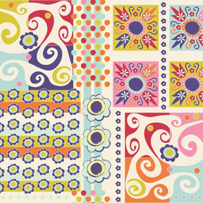Spring Mosaic Quilt