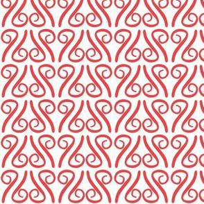 Scroll-y Hearts