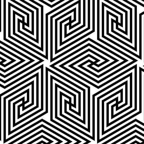 02723155 : greek cube 4 fabric by sef on Spoonflower - custom fabric